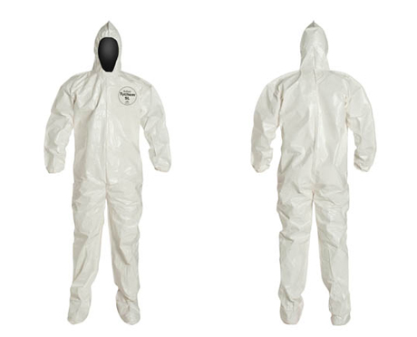 Tychem 174 Sl Hooded Coverall Bound Seams Wayne Safety